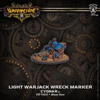 Cygnar Light Warjack Wreck Marker