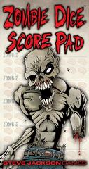 Zombie Dice Score Pad