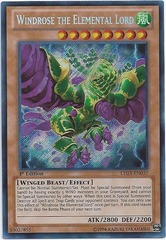 Windrose the Elemental Lord - LTGY-EN037 - Secret Rare