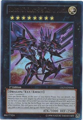 Number 107: Galaxy-Eyes Tachyon Dragon - LTGY-EN044 - Ultra Rare - 1st