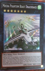 Mecha Phantom Beast Dracossack - LTGY-EN053 - Secret Rare - 1st Edition