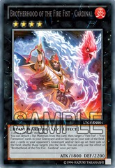 Brotherhood of the Fire Fist - Cardinal - LTGY-EN054 - Secret Rare