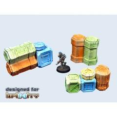 Cargo Crates set 2 (3) (T00052)