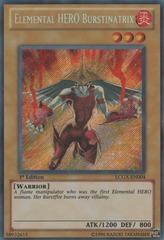 Elemental HERO Burstinatrix - LCGX-EN004 - Secret Rare - Unlimited Edition