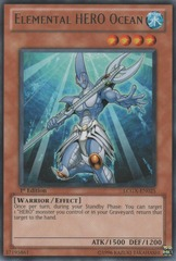 Elemental HERO Ocean - LCGX-EN025 - Rare - Unlimited Edition