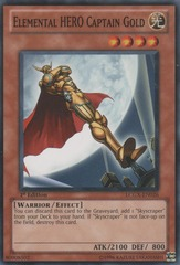 Elemental HERO Captain Gold - LCGX-EN026 - Common - Unlimited Edition