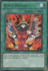 Burst Return - LCGX-EN084 - Rare - Unlimited Edition