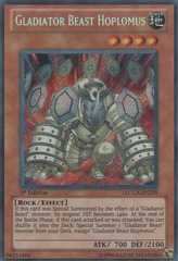 Gladiator Beast Hoplomus - LCGX-EN239 - Secret Rare - Unlimited Edition
