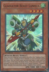 Gladiator Beast Lanista - LCGX-EN252 - Ultra Rare - Unlimited Edition