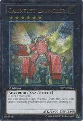Gauntlet Launcher - LTGY-EN045 - Ultimate Rare - 1st Edition