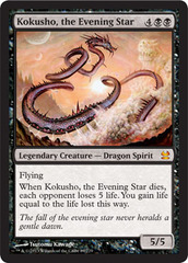 Kokusho, the Evening Star - Foil