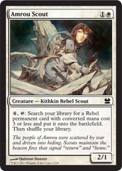Amrou Scout - Foil on Channel Fireball