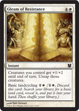 Gleam of Resistance - Foil