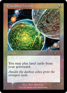 Crucible of Worlds - Foil DCI Judge Promo
