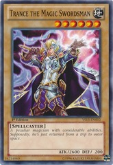 Trance the Magic Swordsman - YS13-EN002 - Common - 1st Edition
