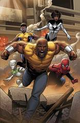 Mighty Avengers #1 Party Variant Inf