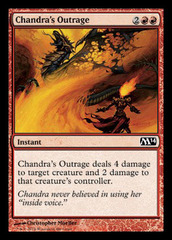 Chandra's Outrage on Channel Fireball