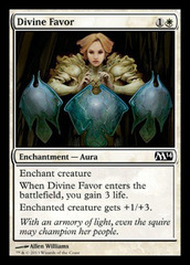 Divine Favor - Foil on Channel Fireball