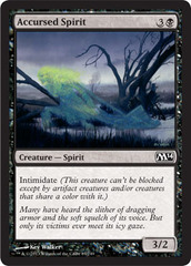 Accursed Spirit - Foil (M14)