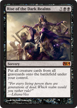 Rise of the Dark Realms - Foil