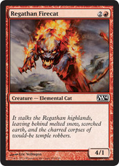 Regathan Firecat - Foil