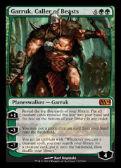 Garruk, Caller of Beasts - Foil on Channel Fireball