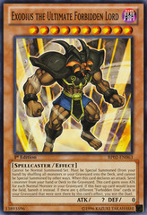 Exodius the Ultimate Forbidden Lord - BP02-EN063 - Common - 1st