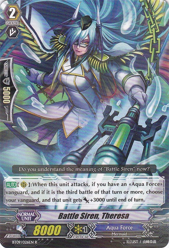 Battle Siren, Theresa - BT09/026EN - R