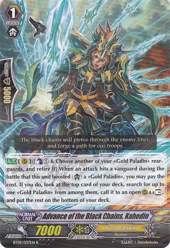 Advance of the Black Chains, Kahedin - BT09/037EN - R