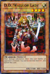 D.D. Warrior Lady - BP02-EN021 - Mosaic Rare - 1st