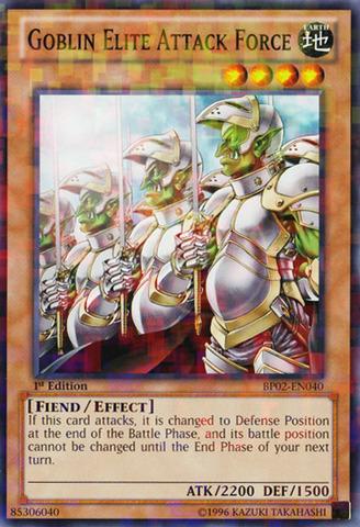 Goblin Elite Attack Force - BP02-EN040 - Mosaic Rare - 1st
