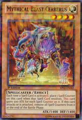 Mythical Beast Cerberus - BP02-EN042 - Mosaic Rare - 1st Edition