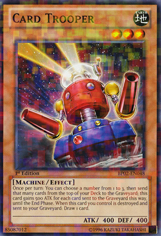 Card Trooper - BP02-EN048 - Mosaic Rare - 1st