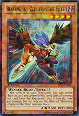 Blackwing - Zephyros the Elite - BP02-EN098 - Mosaic Rare - 1st Edition