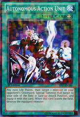 Autonomous Action Unit - BP02-EN140 - Mosaic Rare - 1st on Channel Fireball