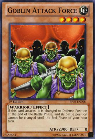 Goblin Attack Force - BP02-EN008 - Common - 1st