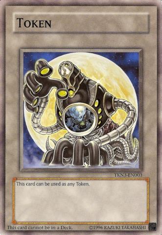 Moon Token - TKN3-EN003 - Common - Unlimited Edition