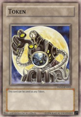 Token Arcana Force XVIII Moon - TKN3-EN003 - Common - Unlimited Edition