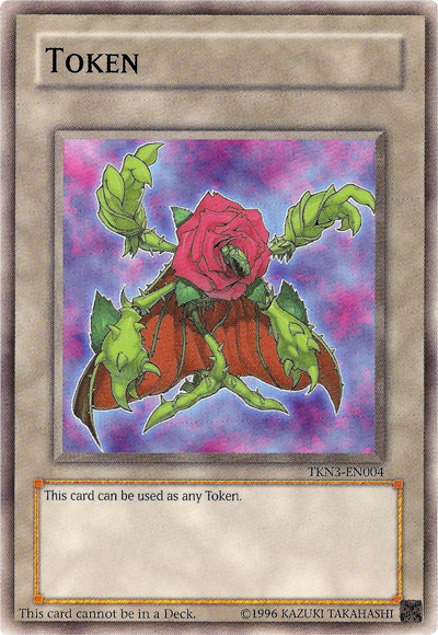 Regenerating Rose Token - TKN3-EN004 - Common - Unlimited Edition