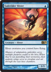 Galerider Sliver - Foil on Channel Fireball