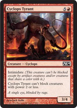 Cyclops Tyrant - Foil
