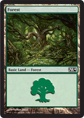 Forest (246) - Foil on Channel Fireball