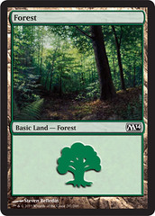Forest (247) - Foil on Channel Fireball