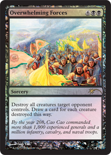 Overwhelming Forces - Foil DCI Judge Promo