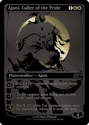 Ajani, Caller of the Pride - SDCC 2013 Exclusive Promo