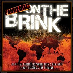 Pandemic On The Brink (1st Edition)
