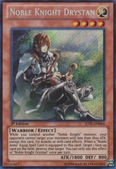 Noble Knight Drystan - JOTL-EN084 - Secret Rare - 1st Edition