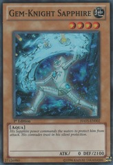 Gem-Knight Sapphire - HA05-EN002 - Super Rare - Unlimited Edition