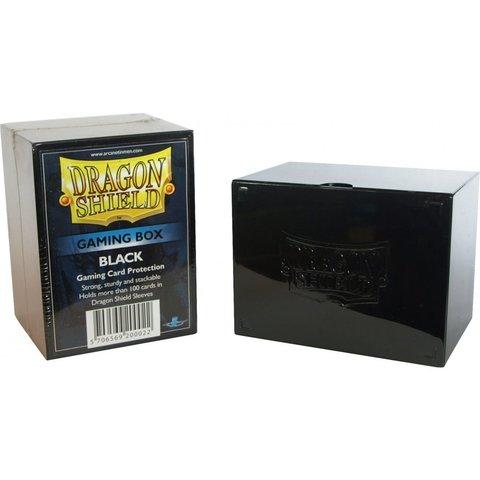 Black - Deck Box (Dragon Shield)