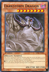 Darkstorm Dragon - SDBE-EN008 - Common - 1st on Channel Fireball